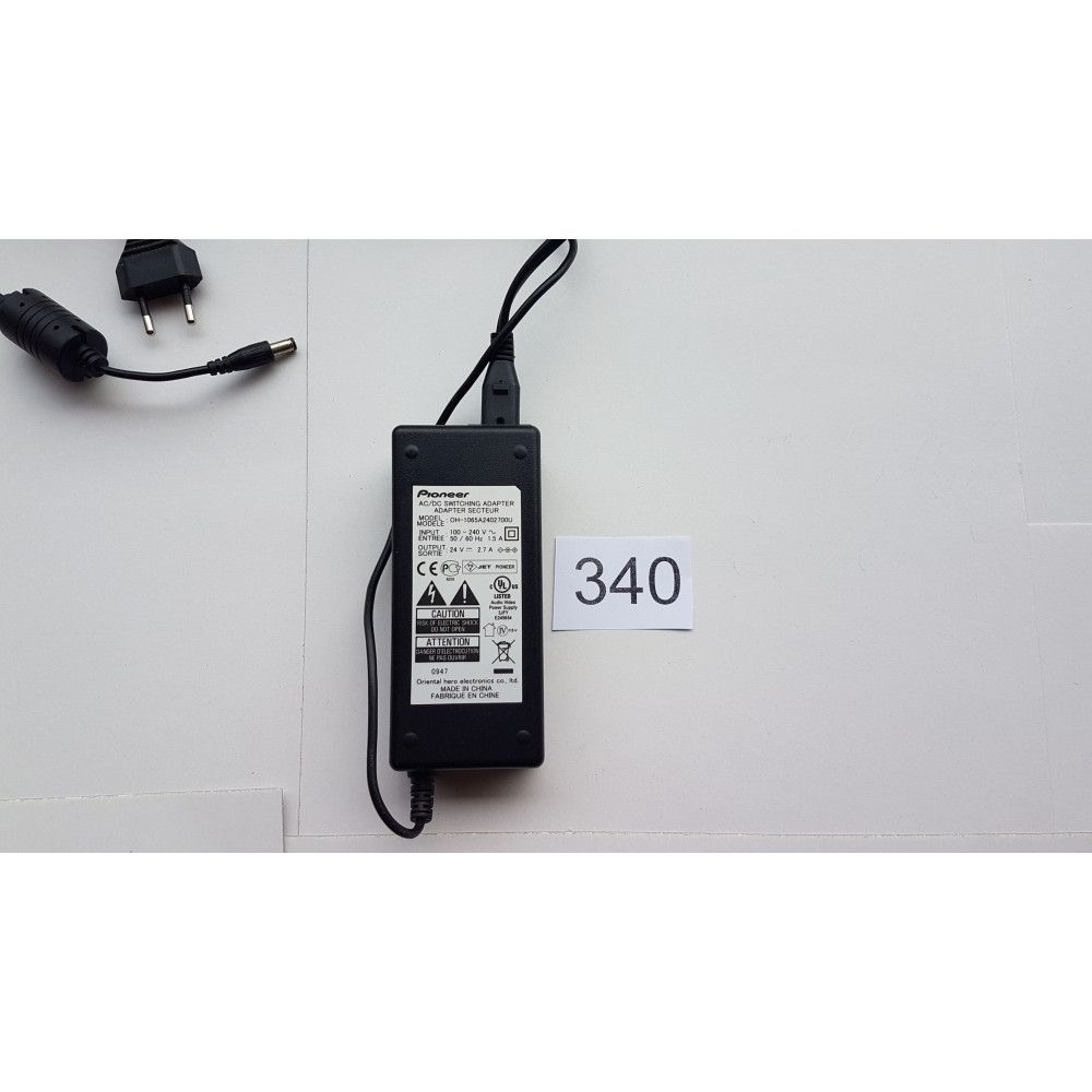 Alimentador o Switching Adapter Pioneer AC/DC OH-1065A2402700U